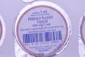 Ferrous sulfate Oral Liquid