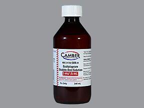 Escitalopram Oral Liquid