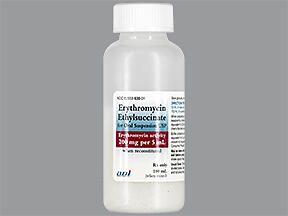 Erythromycin ethylsuccinate Oral Liquid