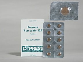 Ferrous fumarate Oral Pill