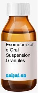 Esomeprazole Oral Suspension Granules